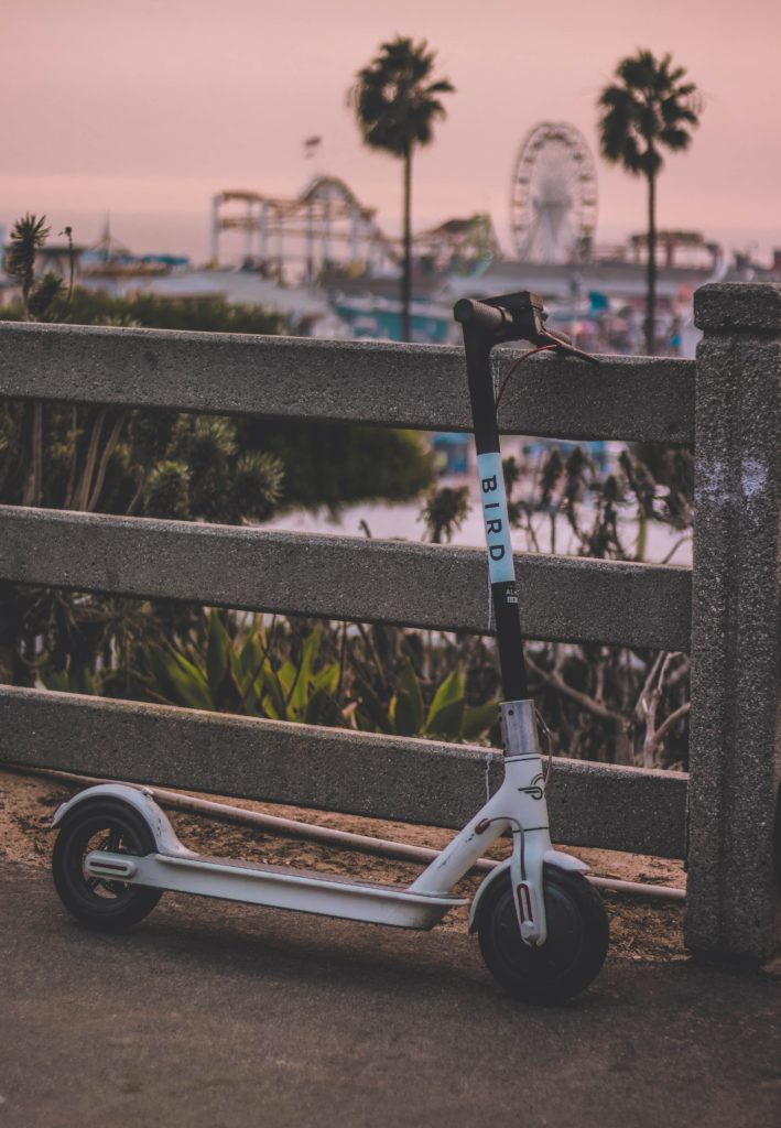 Electric scooters and commuting moonRide